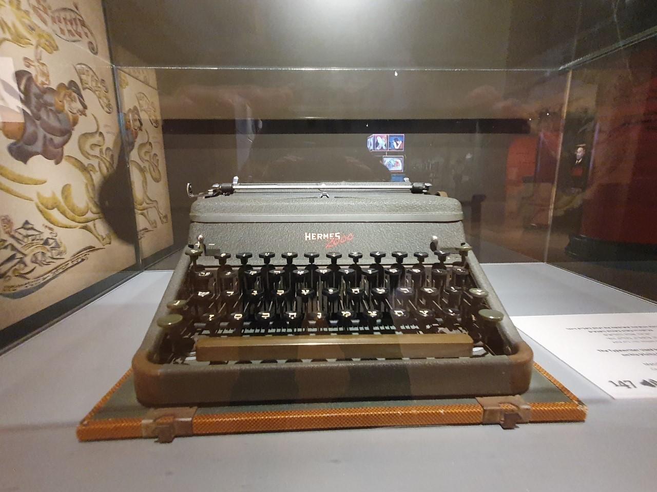 Máquina de escribir de Isaac Bashevis.