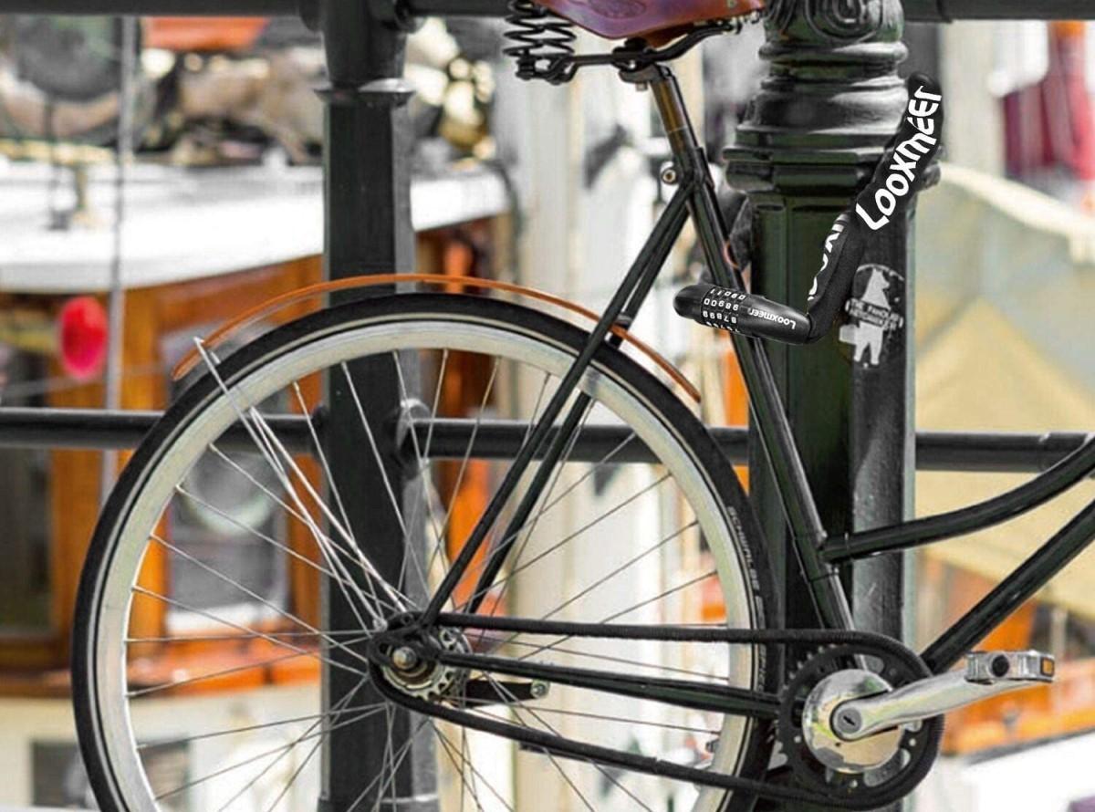 Entre los descuentos de hoy hay un candado de bicicleta con un 42% de descuento.