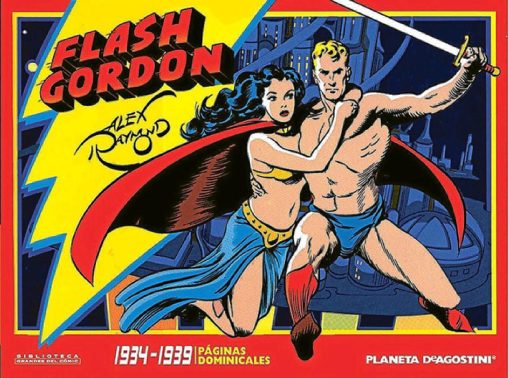 Cómic clásico de Flash Gordon