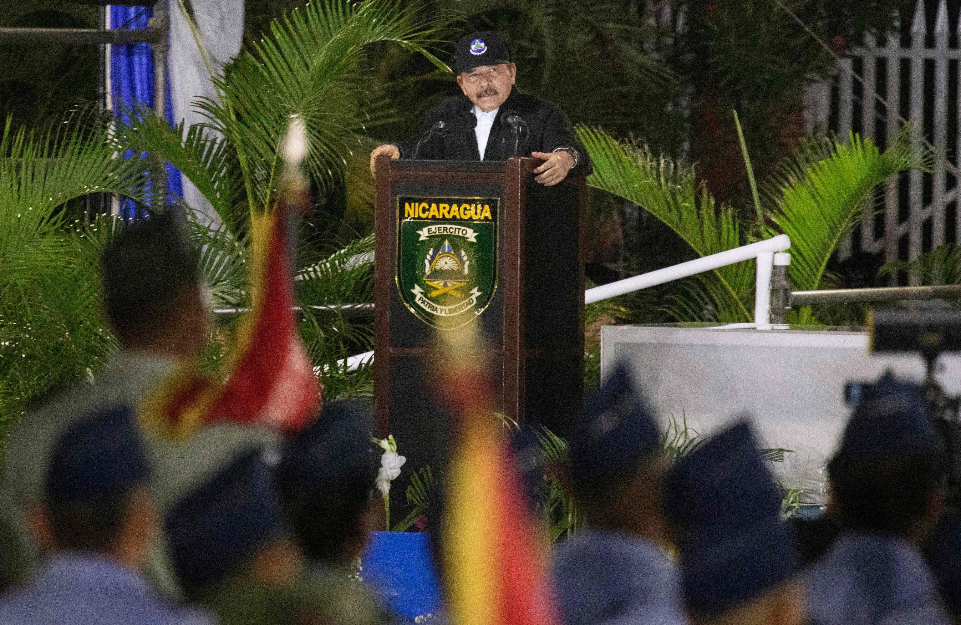 رئیس جمهور نیکاراگوئه ، دانیل اورتگا ، در آخرین سخنرانی خود با