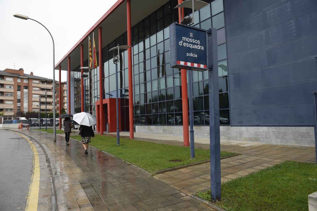 Comisaría de los Mossos en Lleida