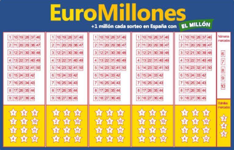 Euromillones deja 113 millones de euros a un acertante en España