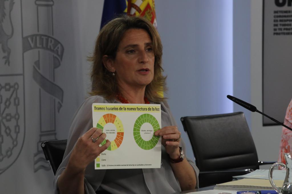 Teresa Ribera, vicepresidenta tercera y ministra para la Transición Ecológica.