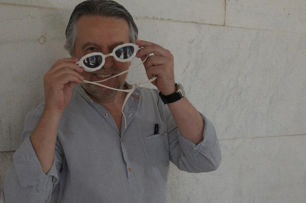 El escritor Felipe Benítez Reyes.