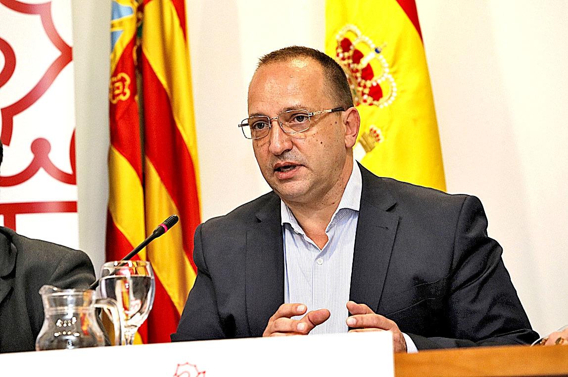 El vicepresidente segundo y conseller de Vivienda, Rubén Martínez Dalmau.