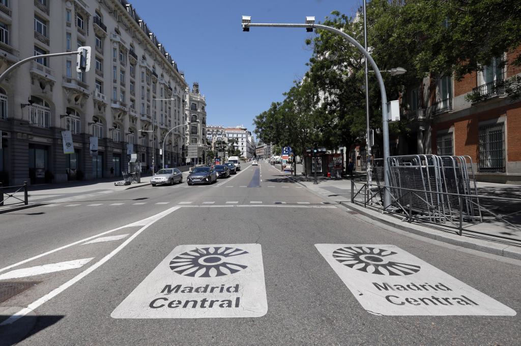 MADRID CENTRAL MATRÍCULA RESTRICCIONES