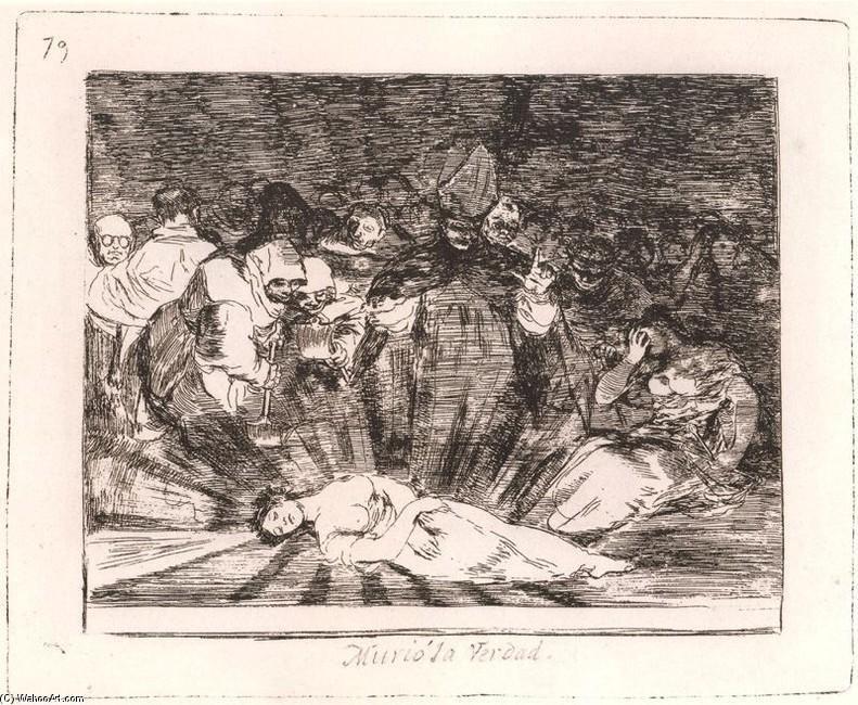 Murió la Verdad, de Francisco de Goya (1814)