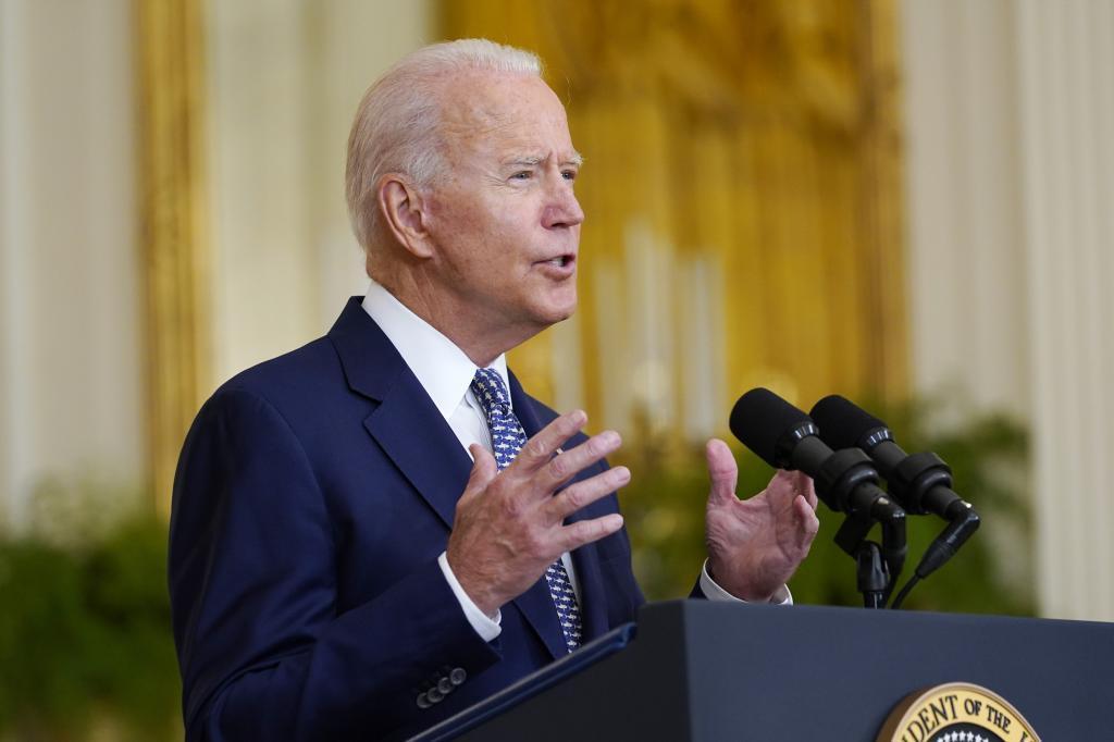 Joe Biden, presidente de EEUU.