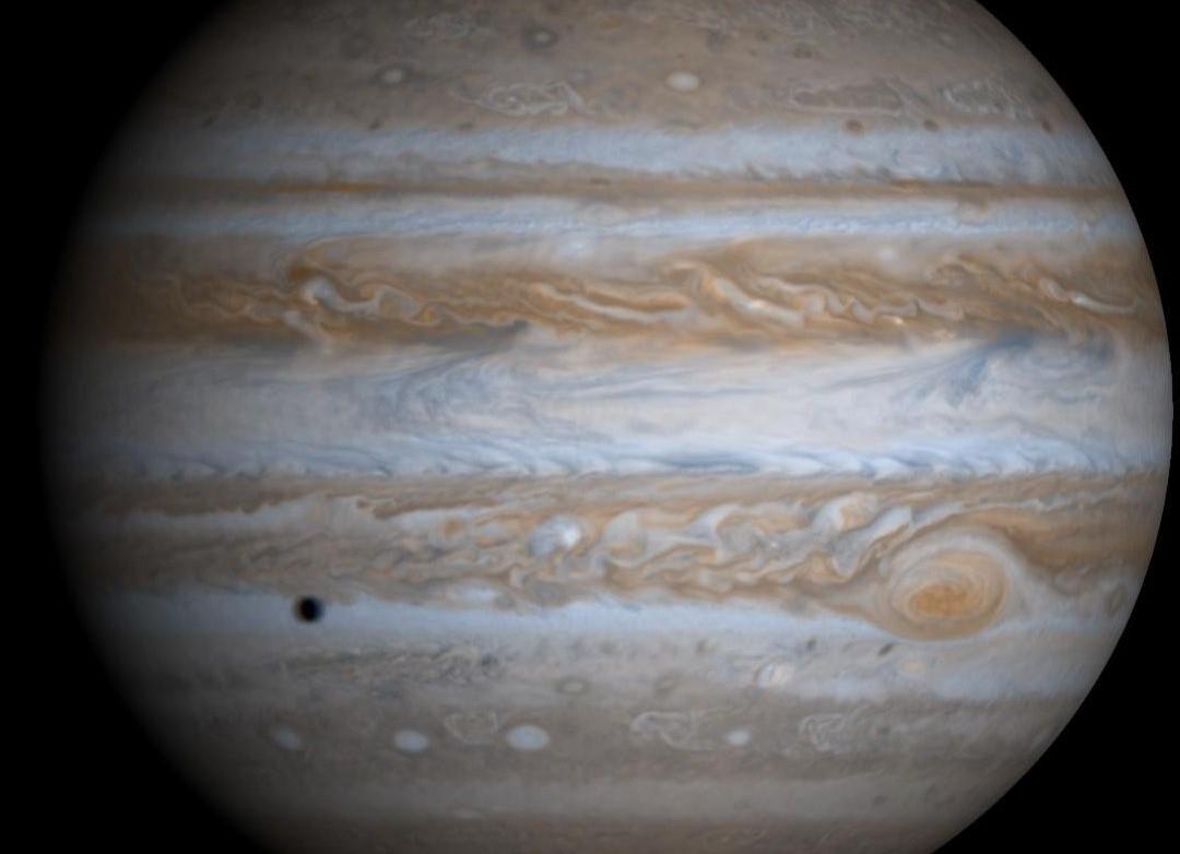 Júpiter observado por la sonda Cassini