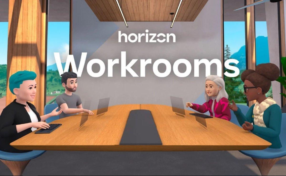 Facebook quiere que tengas reuniones de trabajo en realidad virtual