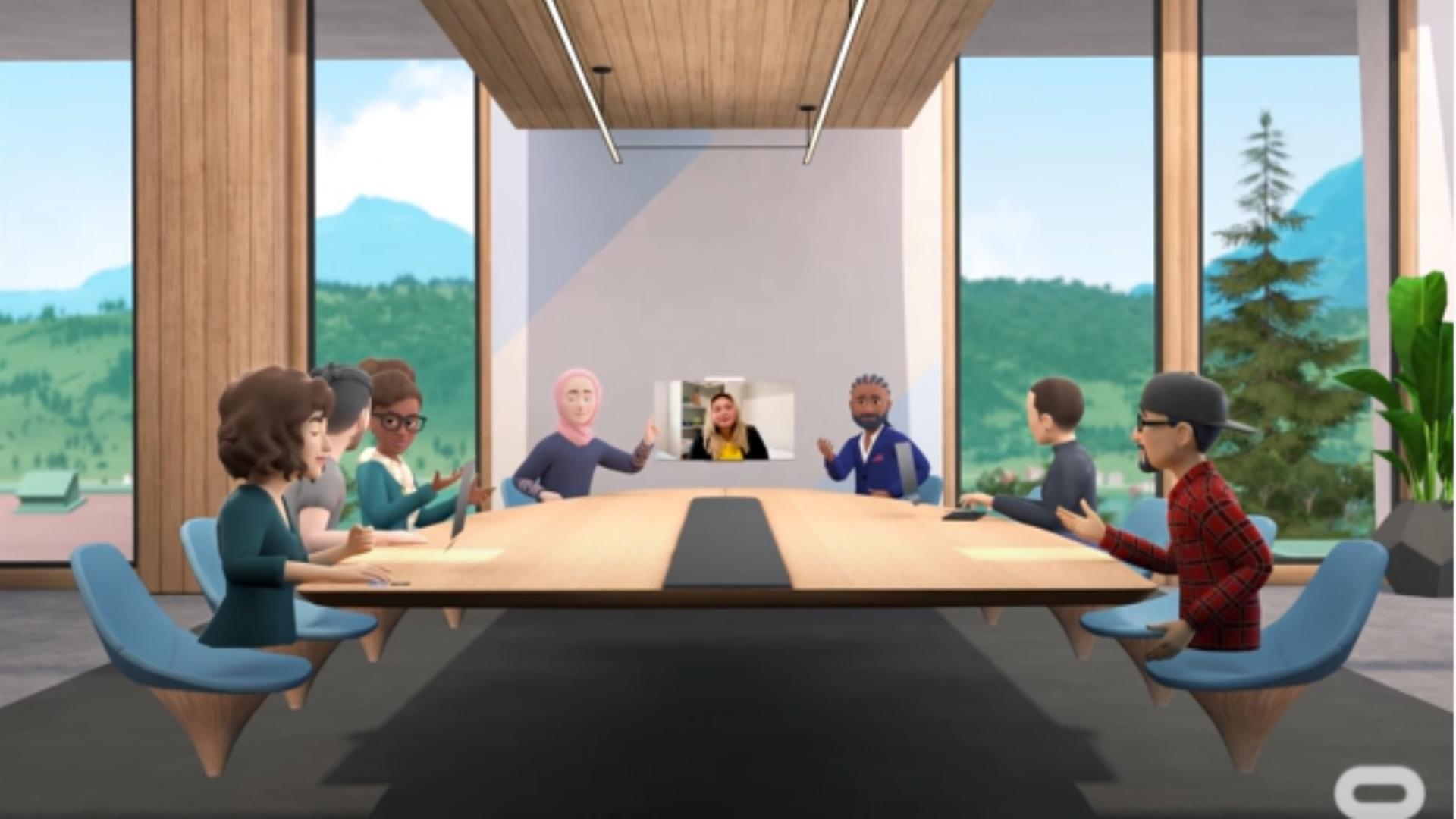 Las mesas de reuniones m