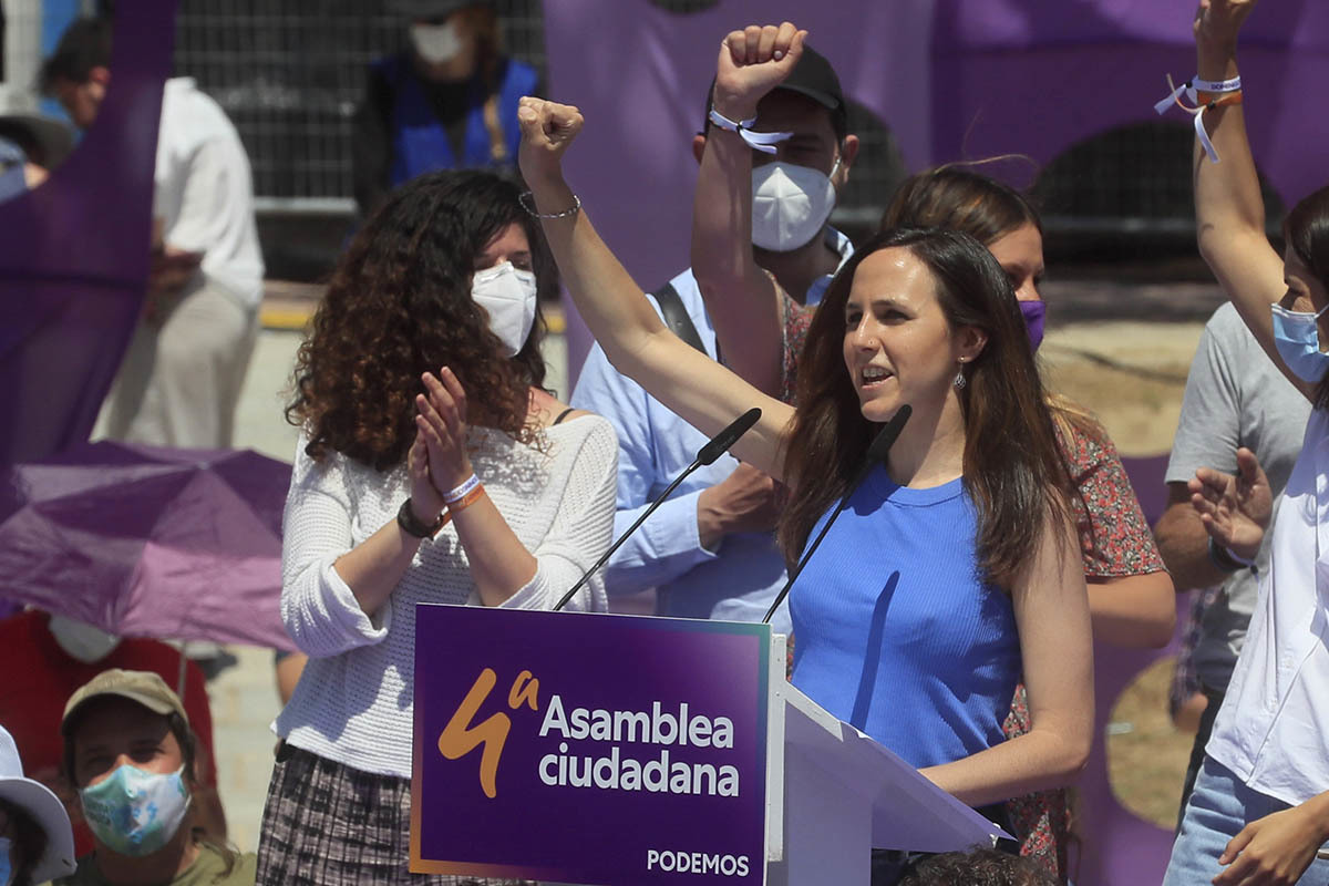 La líder de Podemos, Ione Belarra.