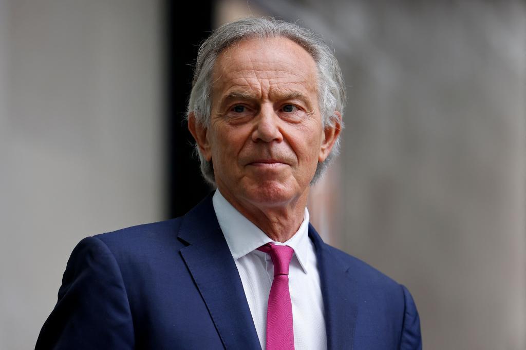 Tony Blair, ex primer ministro británico.