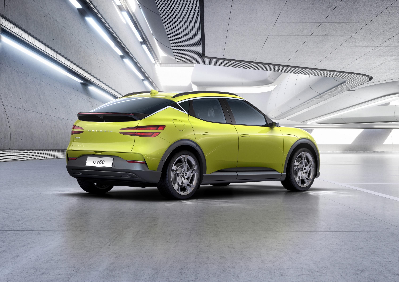 El GV60 se construye sobre la misma plataforma de los Hyundai Ioniq 5 y Kia EV6.