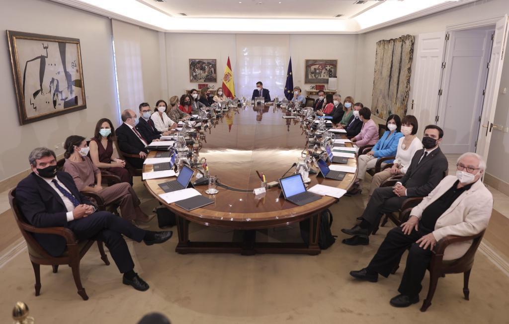 Consejo de Ministros del 13 de julio de 2021.