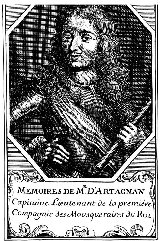 Charles de Batz-Castelmore d'Artagnan.