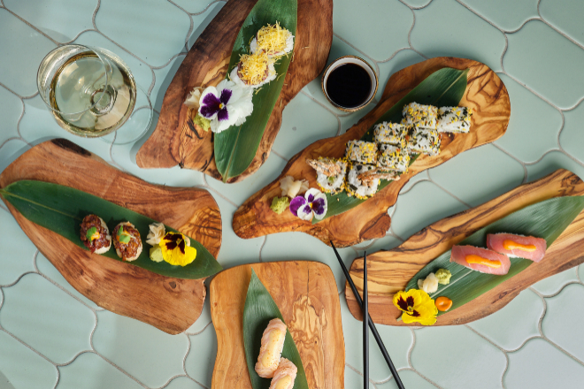 """El chef Sergio Fernández, de Canal Cocina, está a cargo de una propuesta gastro centrada en el concepto """"raw bar""""."""