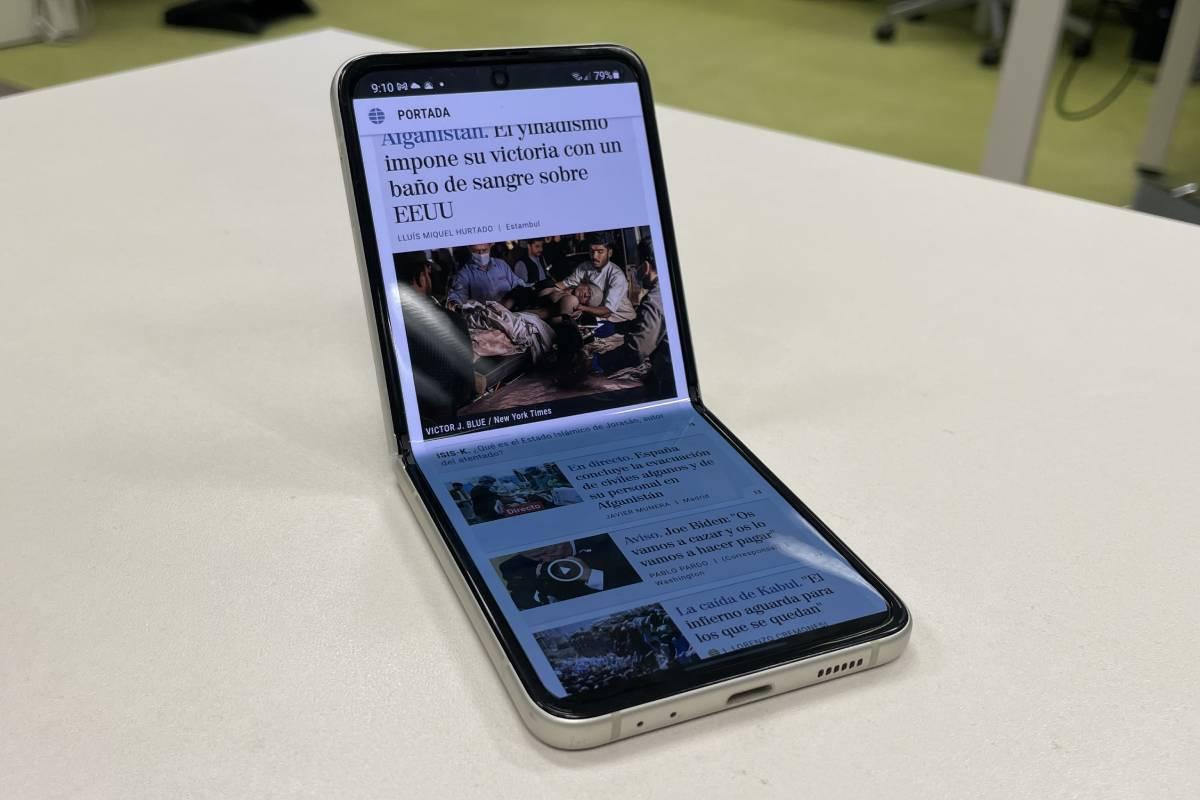 Samsung Galaxy Z Flip 3: los móviles plegables ya no son un capricho