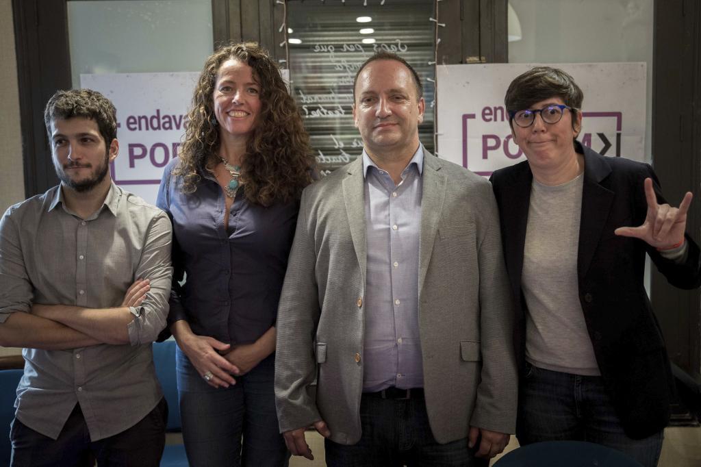 Beatriu Gascó, Rubén Martínez y Pilar Lima.