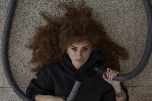 Penélope Cruz en 'Competencia oficial', el otro trabajo por el que compite en Venecia.