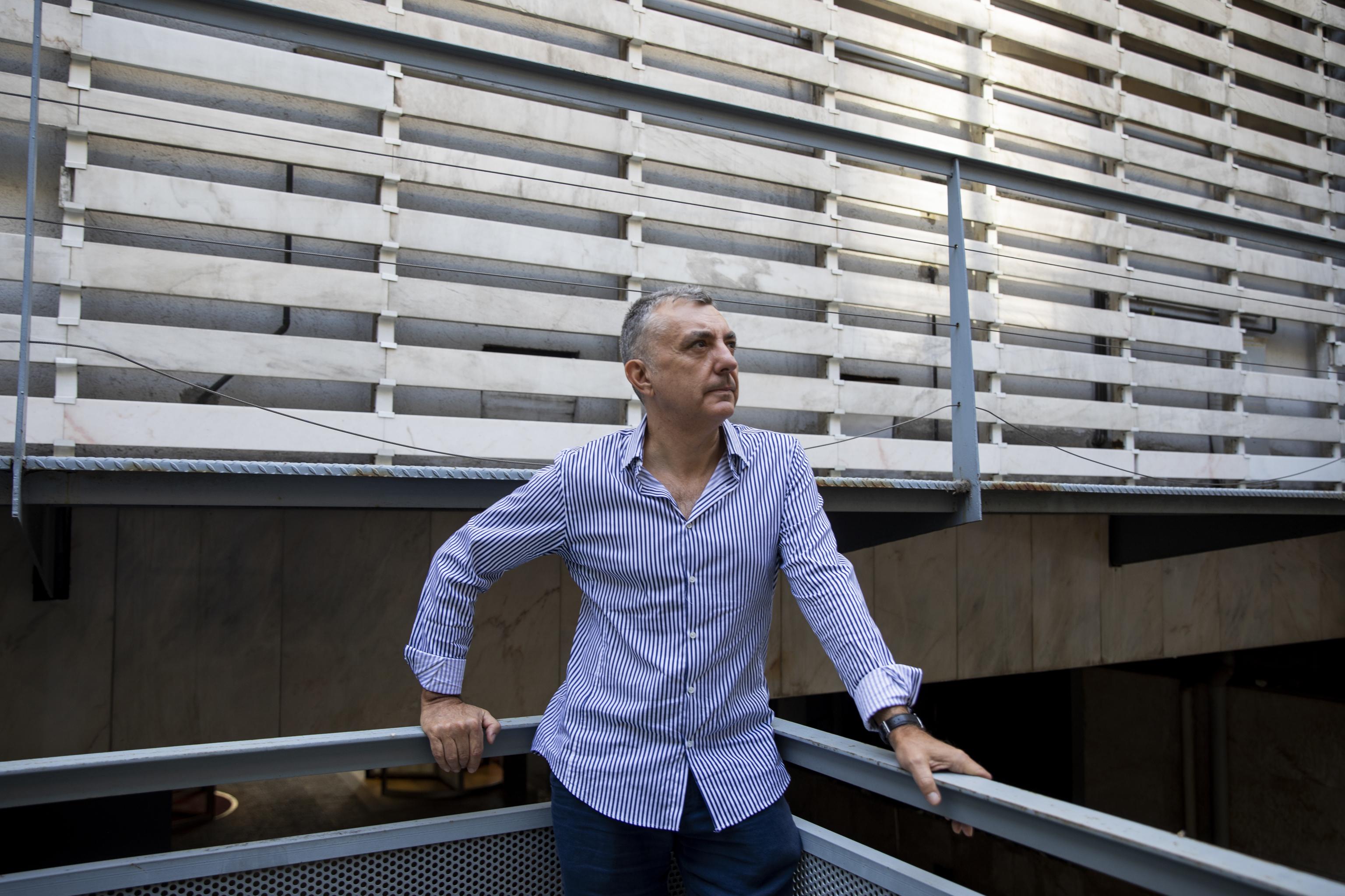 Manuel Vilas, en Madrid.