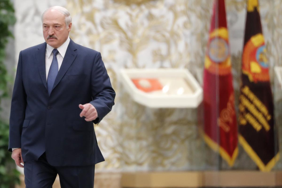 El presidente bielorruso, Alexander Lukashenko, en 2019.