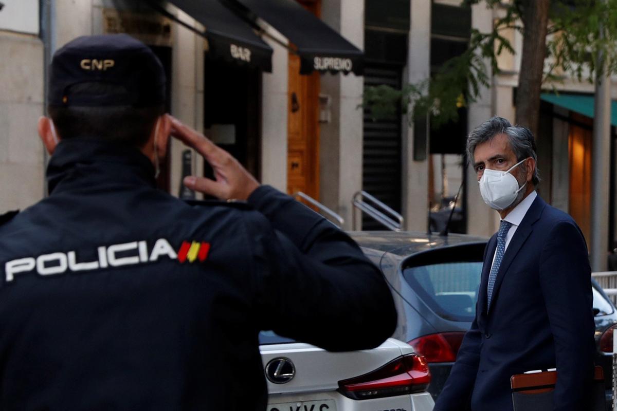 El presidente del CGPJ, Carlos Lesmes.