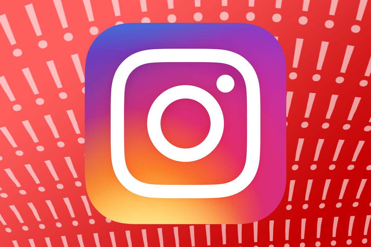 Instagram está caído y no funciona en España