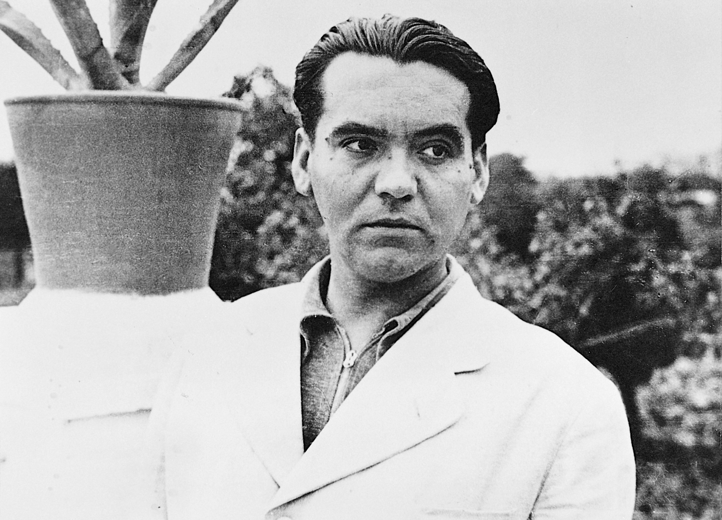 El poeta Federico García Lorca.