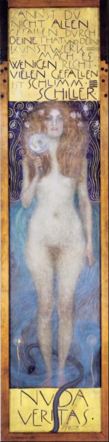 Nuda Veritas, por Gustav Klimt (1899)