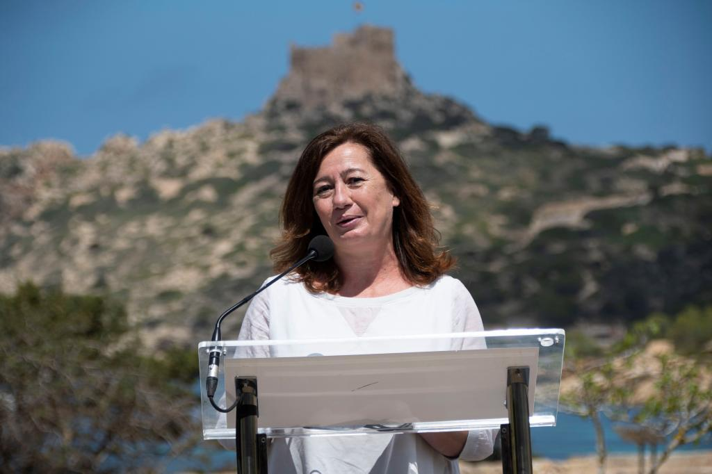 Francina Armengol, presidenta de Baleares.