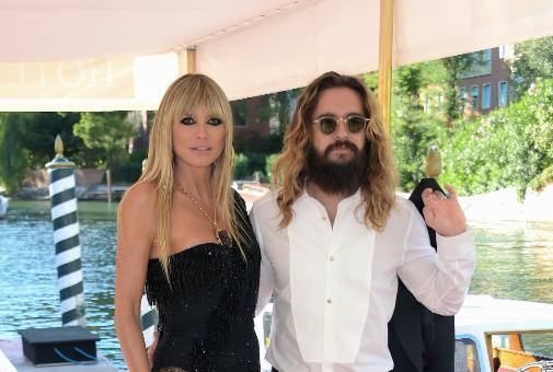 Heidi Klum (48) y Tom Kaulitz (32), en Venecia con motivo del desfile de Dolce & Gabbana este septiembre.