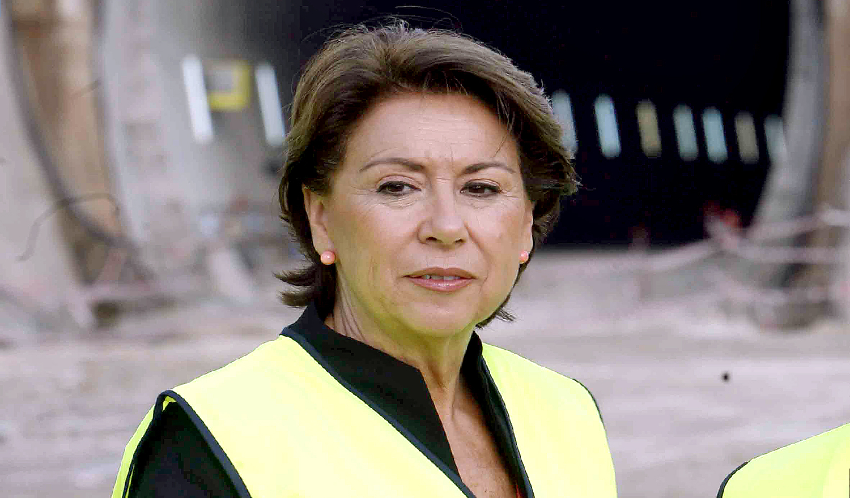 Magdalena Álvarez ministra de Fomento en 2006.