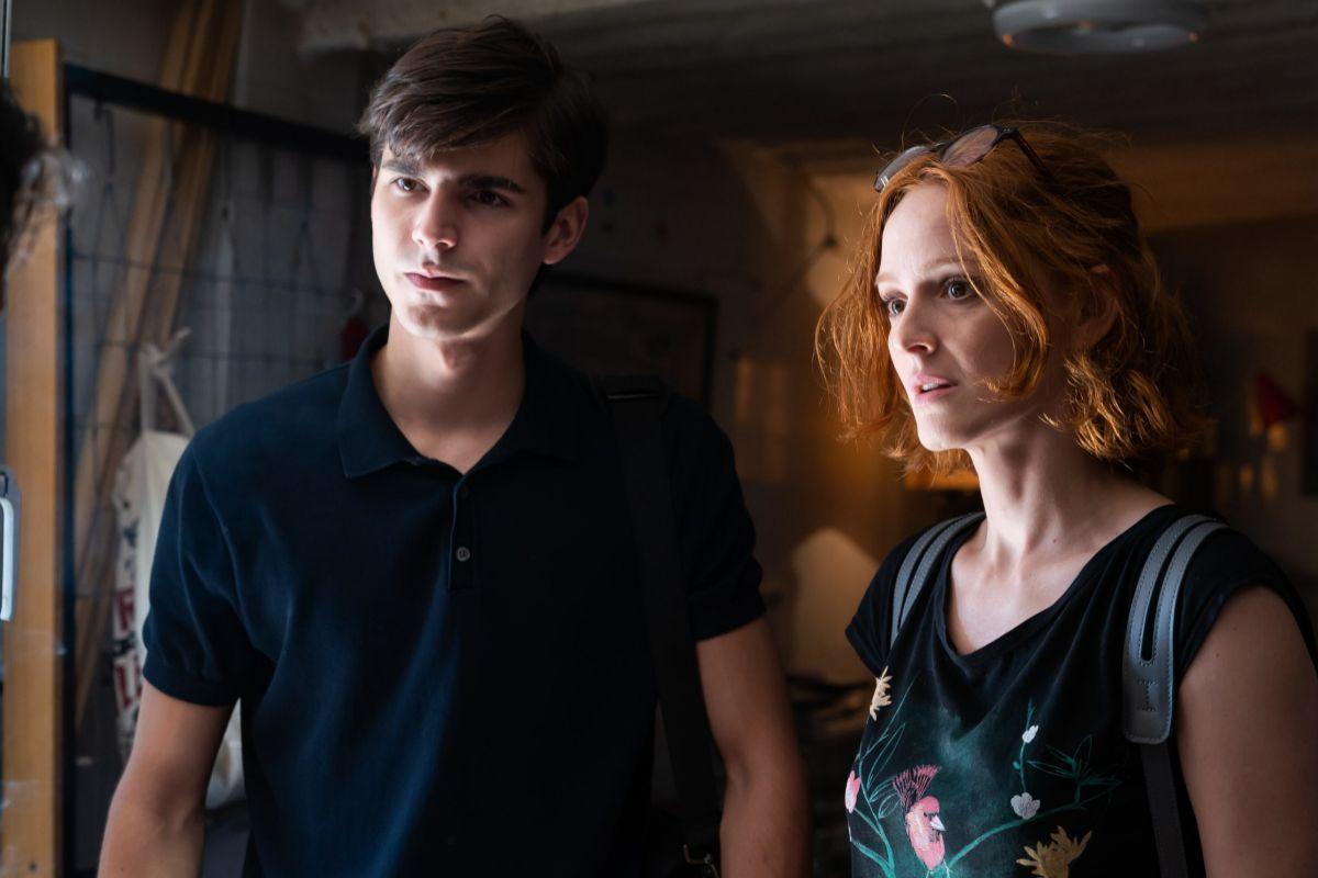 Álvaro Mel y Ana Polvorosa en 'La fortuna'.
