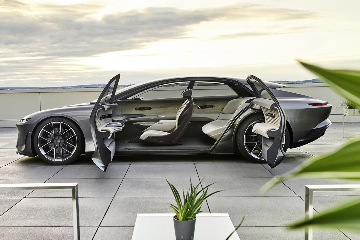 Audi Grandshpere concept, una berlina de lujo autónoma