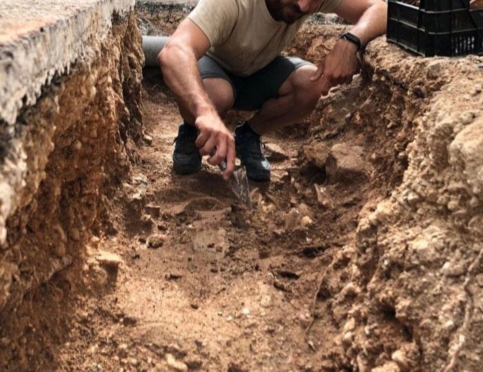 Hallazgo de restos arqueológicos altea