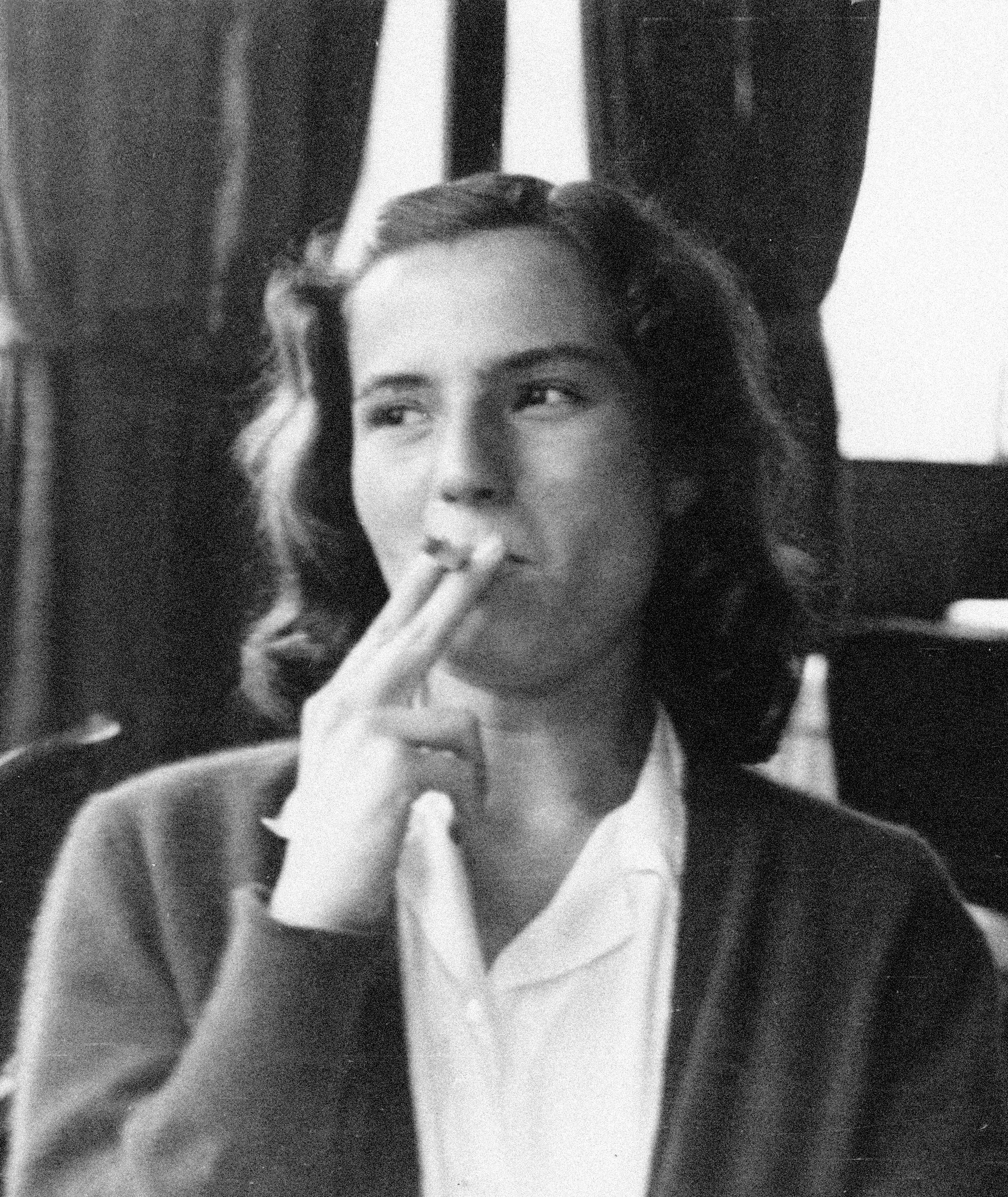La escritora Carmen Laforet.