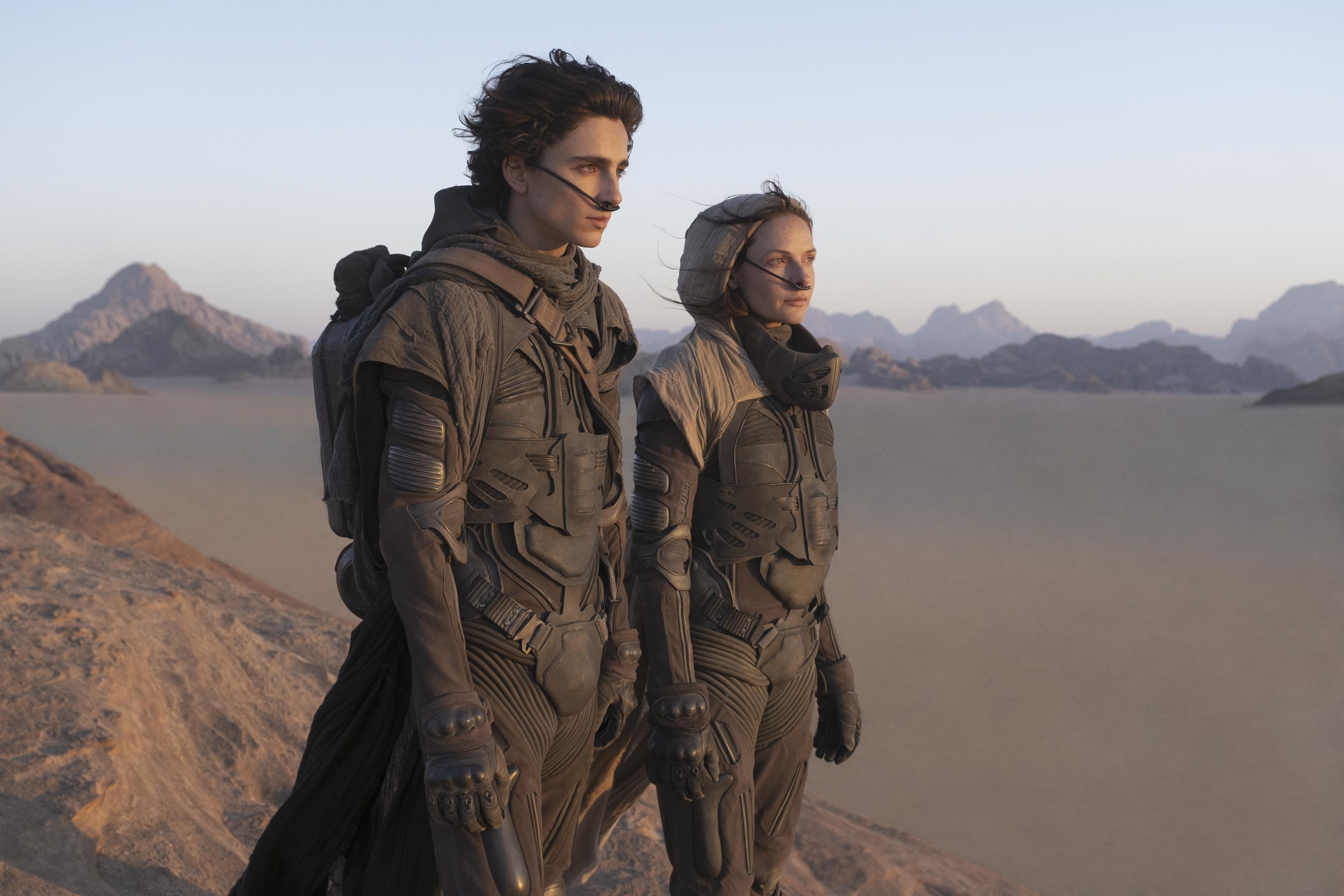 Una escena de Dune.
