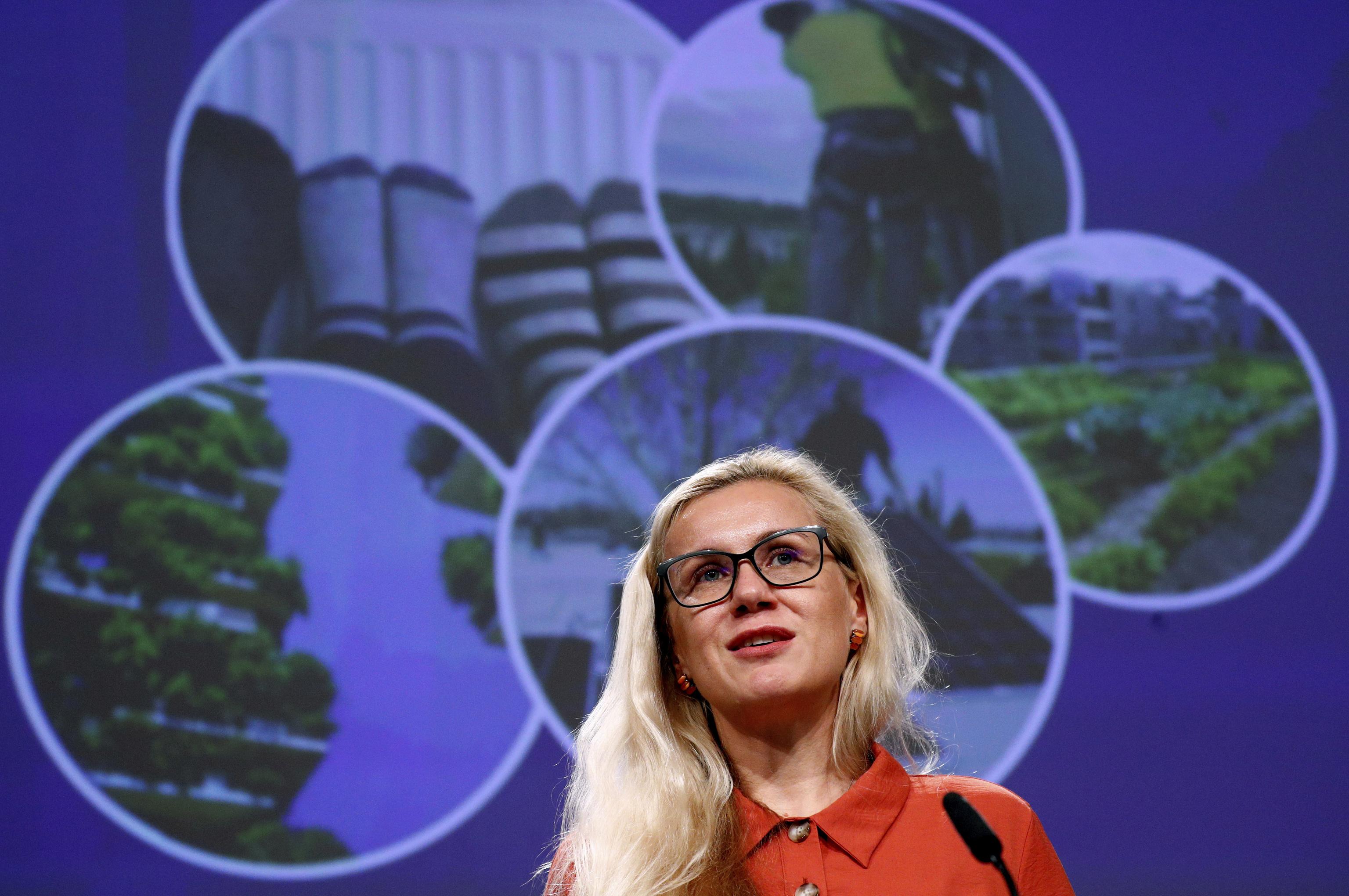Kadri Simson, comisaria de Energía de la Comisión Europea