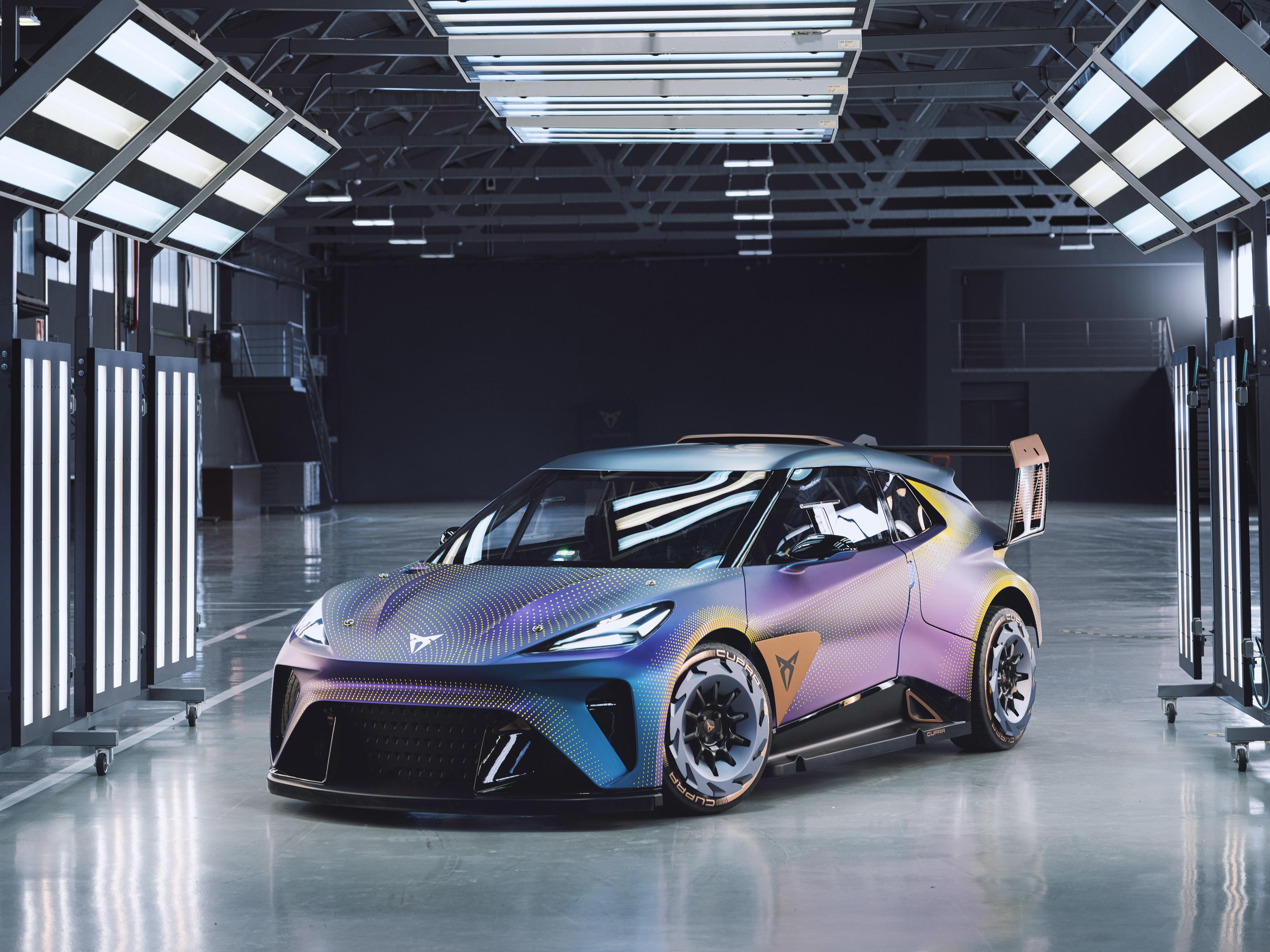 El Cupra UrbanRebel concept adelanta los electricos pequeños de VW