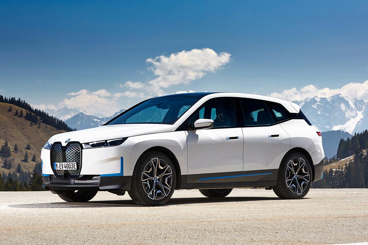 BMW iX, el nuevo todocamino eléctrico de la marca