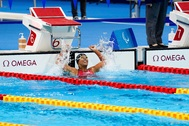 La nadadora española Teresa Perales conquistó la medalla de plata en los 50 metros espalda.