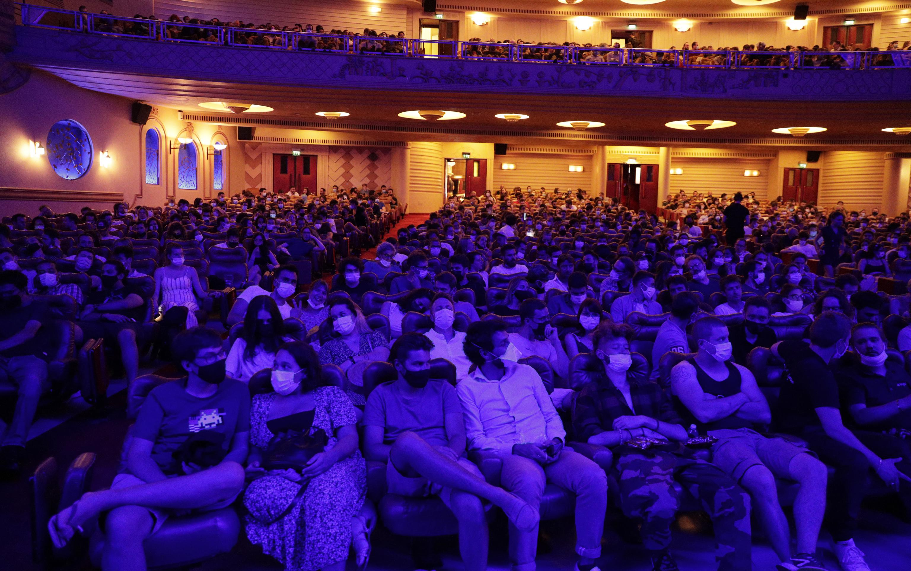 El público llena el cine Grand Rex de París, en julio pasado.