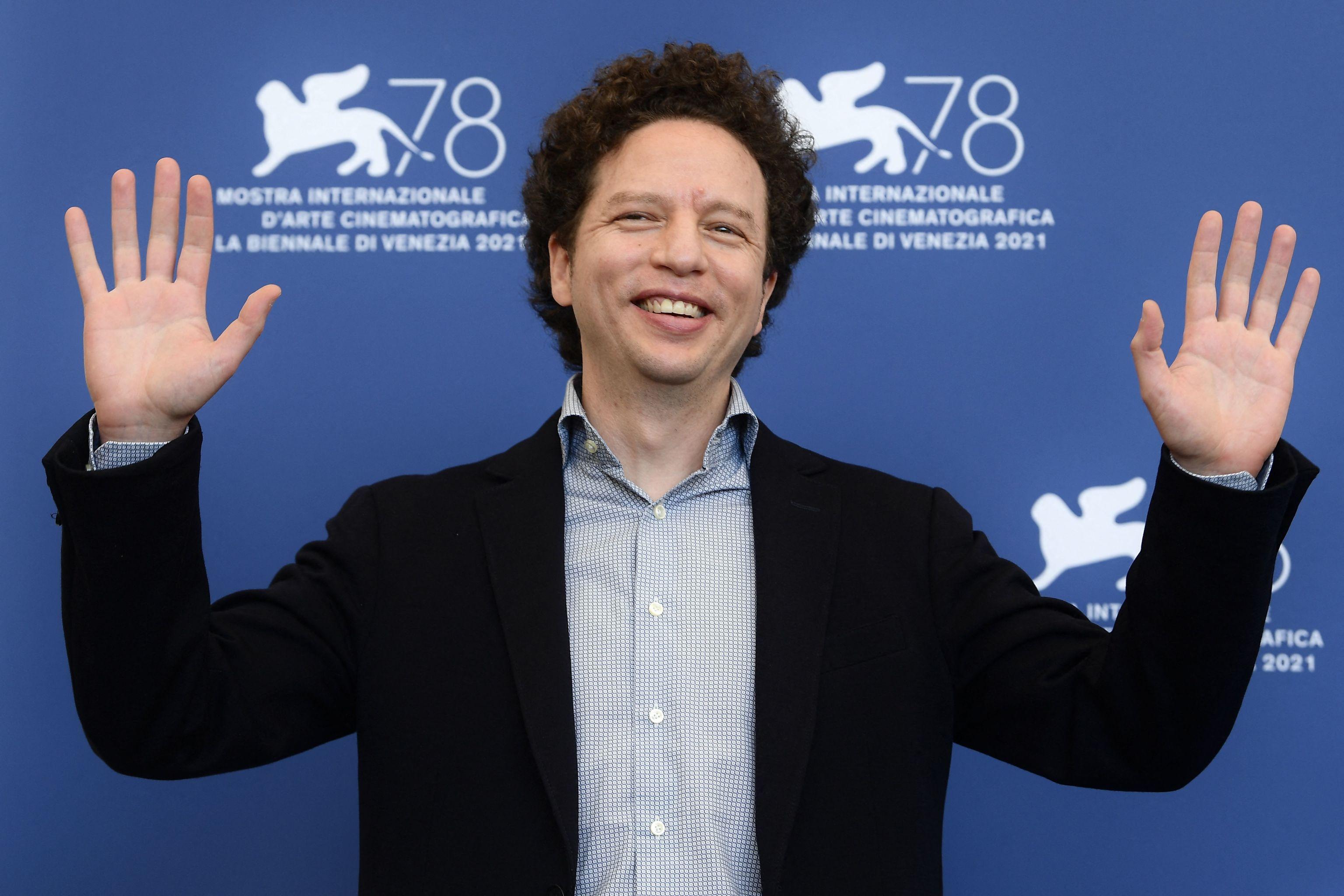 Michel Franco, en el Lido de Venecia
