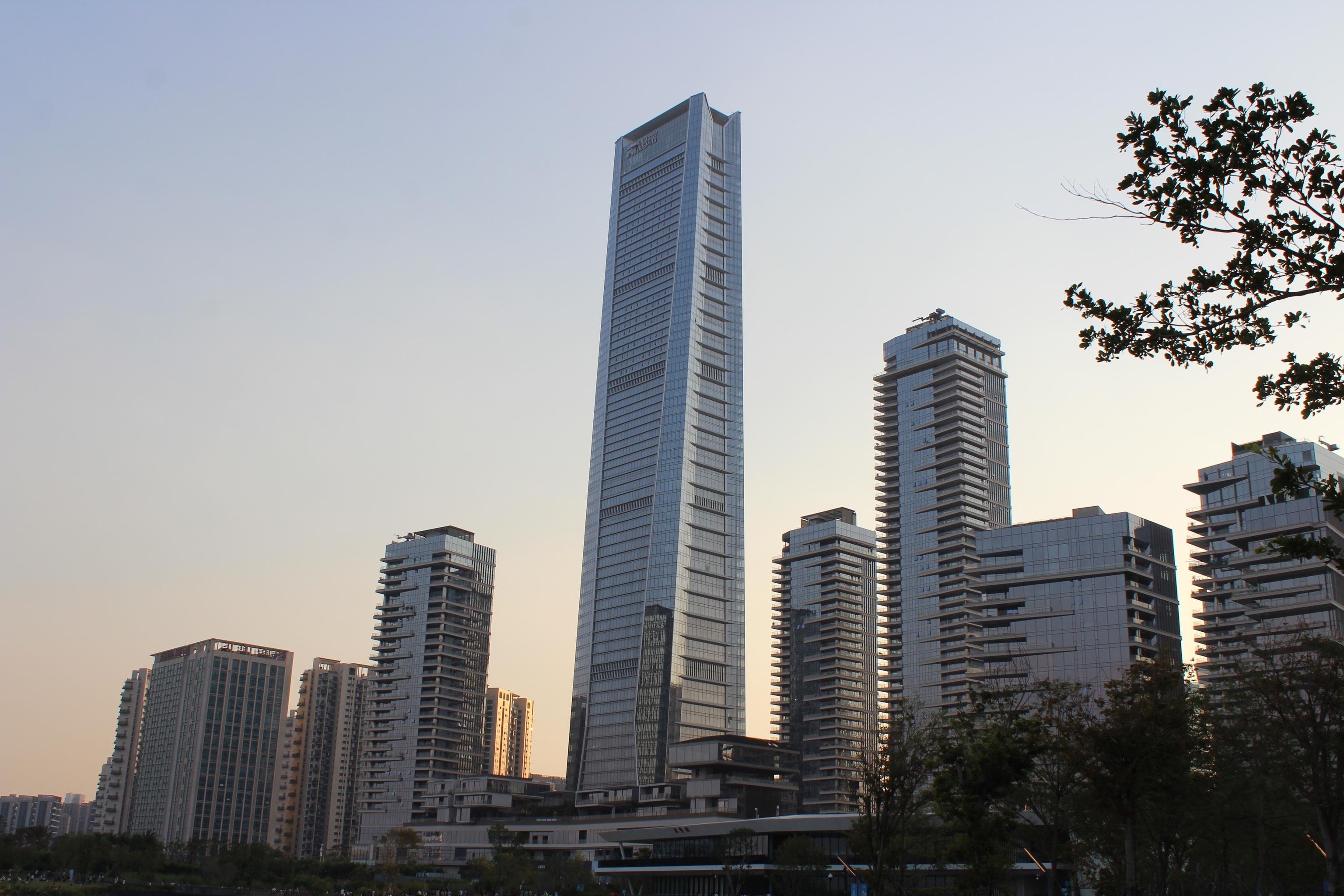 La ciudad de Shenzhen en China