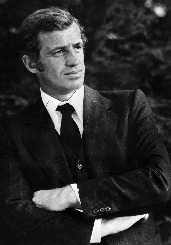 El actor francés recientemente fallecido, Jean.Paul Belmondo