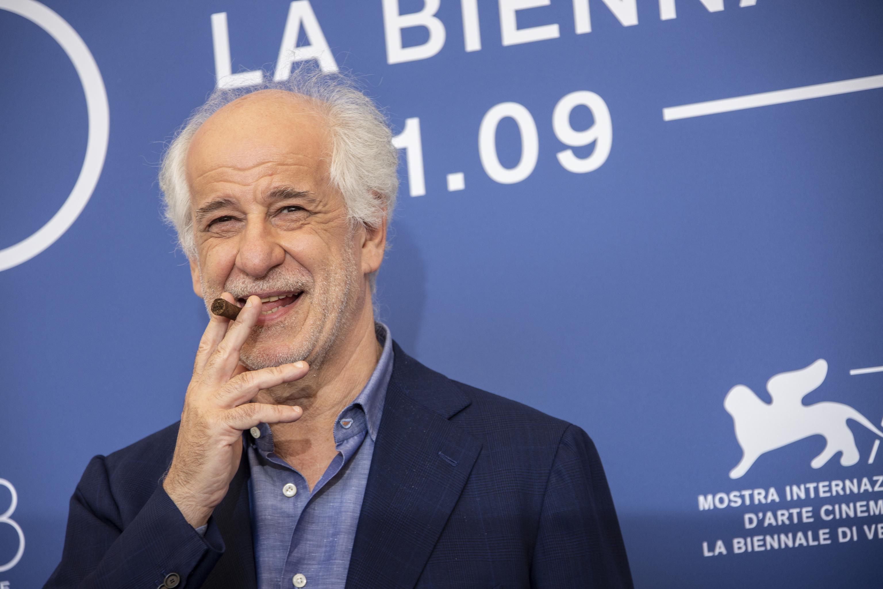 El actor italiano Toni Servillo estrena tres películas en la Mostra