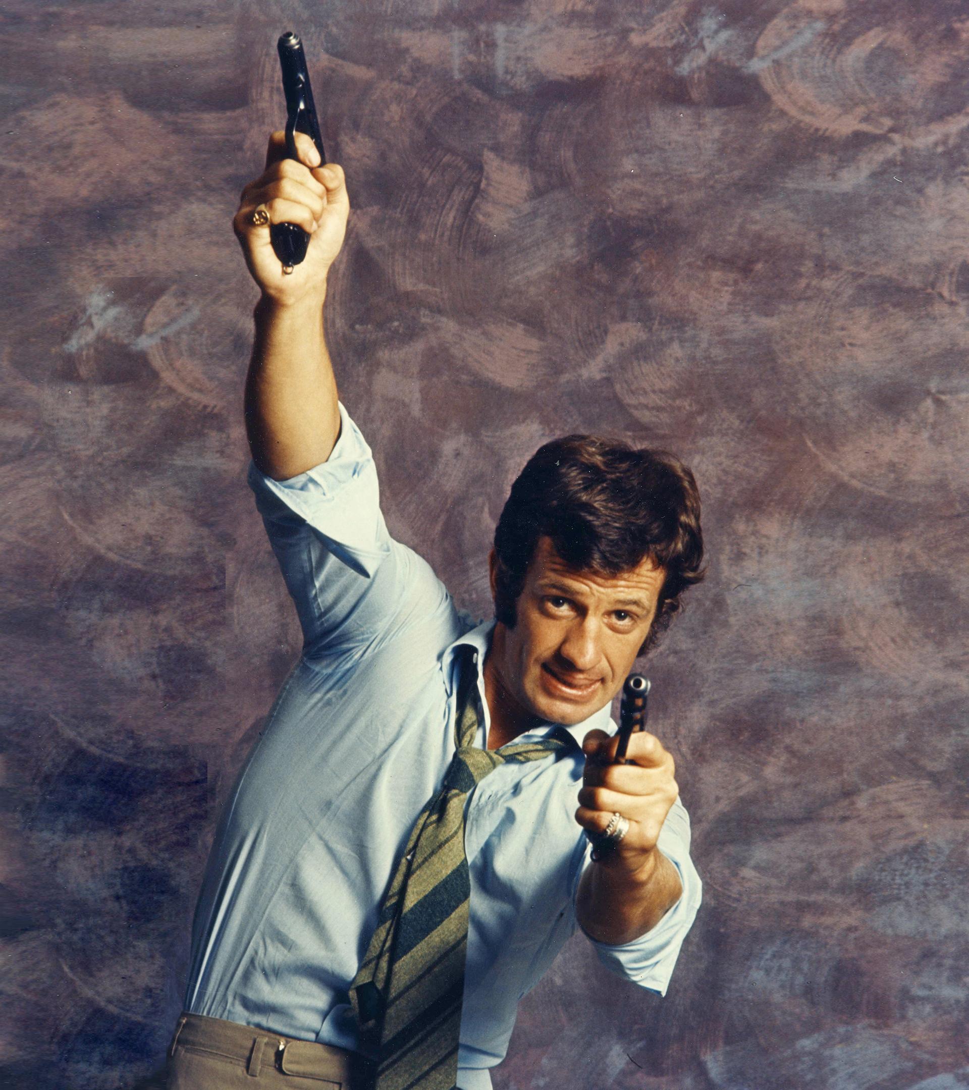 Jean-Paul Belmondo, durante el rodaje de 'Oh', en 1968.