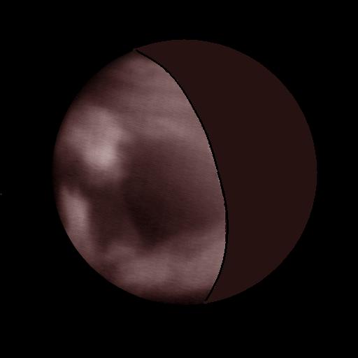 Venus observado en el infrarrojo con el telescopio IRTF