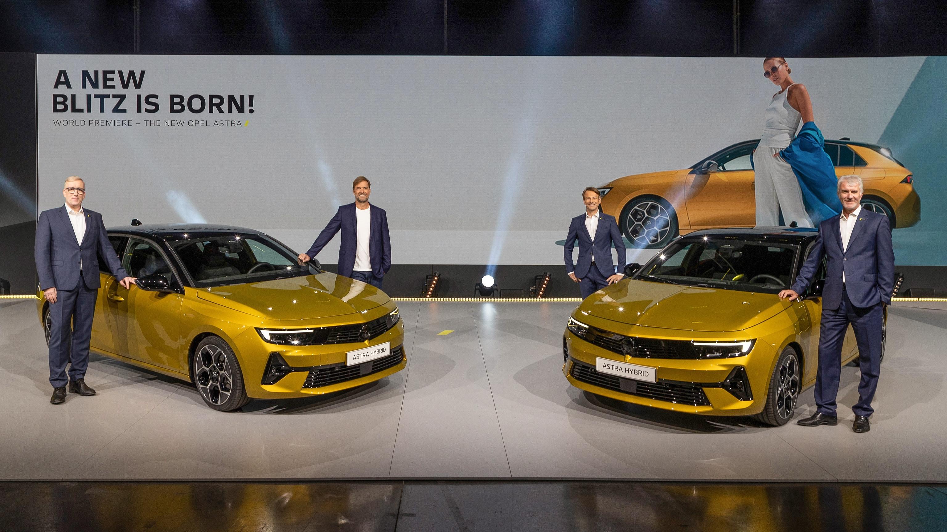 Imagen de la presentación del Opel Astra en la sede de la marca germana.